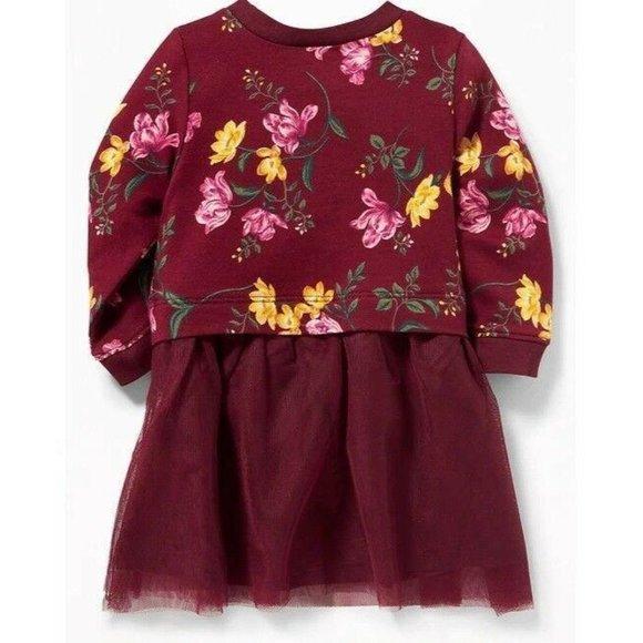 OldNavy Floral Tutu Dress 19-24mo LH4016